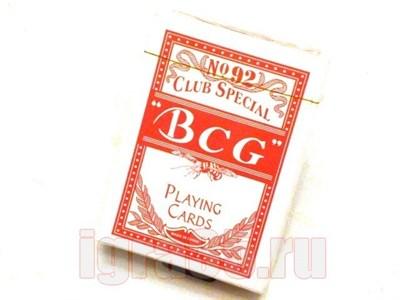 Карты для покера. BCG - фото 16614