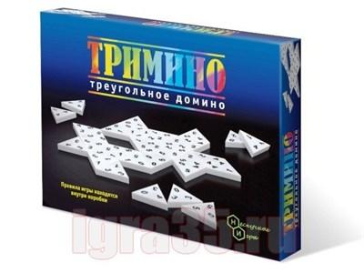 Тримино (треугольное домино) - фото 16969