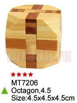 Головоломка Куб усеченный (продвинутый) - фото 17049