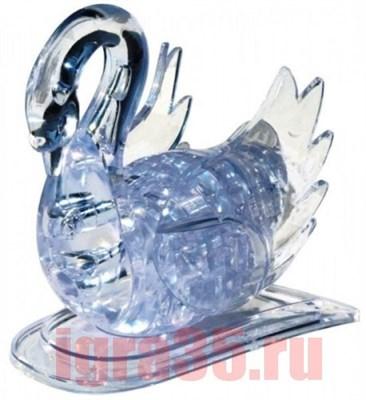 Паззл 3D. Crystal Puzzle Лебедь (белый, с подсветкой) - фото 17582