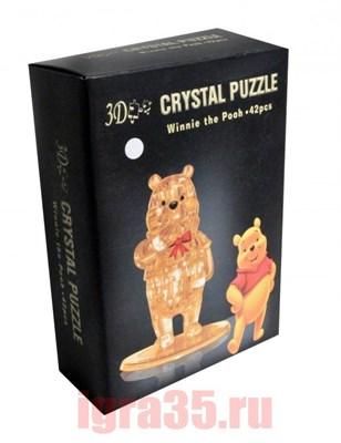 Паззл 3D. Crystal Puzzle Винни Пух - фото 17831