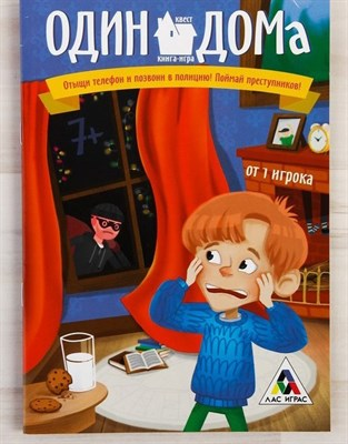 Один дома. Книга-игра поисковый квест - фото 19612