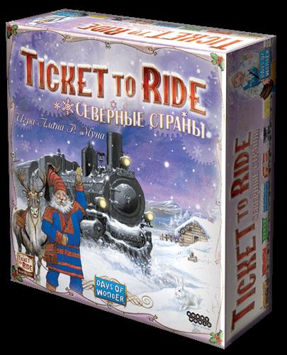 Билет на поезд Северные страны (Ticket to Ride: Nordic Countries) - фото 22396