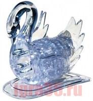 Паззл 3D. Crystal Puzzle Лебедь (белый, с подсветкой)