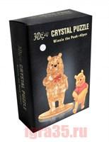 Паззл 3D. Crystal Puzzle Винни Пух