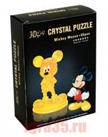 Паззл 3D. Crystal Puzzle Микки Маус
