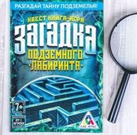 Загадка подземного лабиринта. Книга-игра поисковый квест